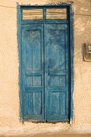 Blue, Building Structure, Closed, Day, Door