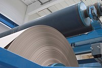 mechanical, paper mill, mill, rolled, industrial, array