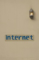 Close_Up, Information Board, Internet, Light Bulb