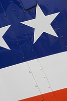 Blue, Flag, Day, Close_Up, American Flag
