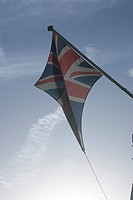 Blue, British Flag, Clear Sky, Day
