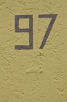 Close_Up, Full Frame, Number, Number 7