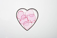 Close_Up, Cut Out, Group Of Objects, Heart Shape