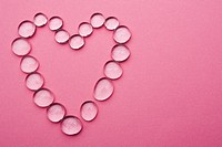 Close_Up, Colored Background, Gem, Heart Shape