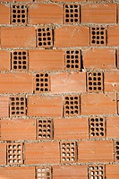 Brick, Brown, Cement, Close_Up, Day