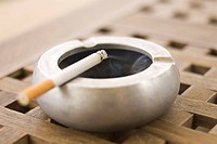 Close_Up, Burning, Social Issues, Tobacco Product, Cigarette, Ashtray