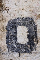 Capital Letter, Dripping, Cracked, Close_Up, Alphabet