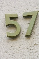 Address, Mounted, Day, Close_Up, 57
