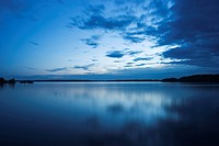 Blue Sky, Clouds, Day, Lake (thumbnail)