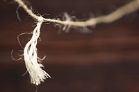 Close_Up, Knot, Fibers, Cord, Appearance