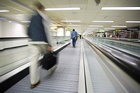Baggage, Commuting, Building, Blurred, Airport