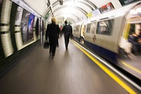 blurred, commute, commuters, formal clothing, glass