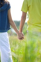Couple on meadow (thumbnail)
