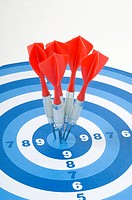 Board, aim, background, arrow, archery, bullseye, accurate (thumbnail)