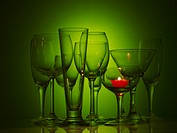 candle light, wine glass, candle, object, champagne glass, glass