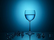 Wine glass, house item, light, water, glass (thumbnail)