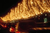 Christmas Illuminations On Champs-Elysees (thumbnail)
