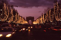 Christmas Illuminations On Champs_Elysees
