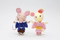 Two Rats Which Wore The Kimono