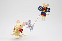 Kite_Flying Of A Rat