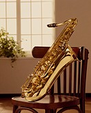 A Chair And Sax (thumbnail)