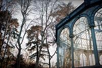 Palacio de Cristal, Parque del Retiro, Madrid, Spain