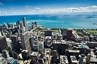 Chicago Skyline, Architecture, Illinois, USA
