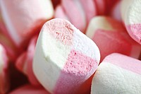 Marshmallows, full frame, close_up