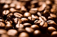Coffee beans, full frame, close_up