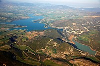 Alloz reservoir, Navarre, Spain