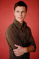 Young, man, attractive, happy, arms folded, portra (thumbnail)