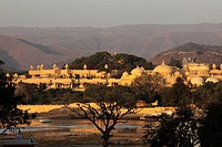 India, Rajasthan, Udaipur, Lake Pichola, Udai Vilas Hotel