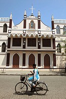 India, Puducherry, Pondicherry, St Louis de Gonzague Convent