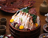 Crab foot, Sashimi, Japanese food, Japan