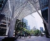 Tokyo midtown, plaza, midtown east, Minato Ward, Tokyo, Kanto, Japan, July