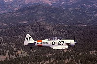 North American T-6 Texan (AT-6 variant), trainer aircraft