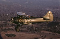 1940's WACO UPF-7 antique restored aircraft