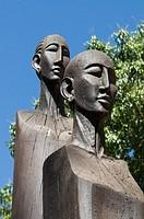 African sculptures Ankarafantsika National Park Madagascar Africa