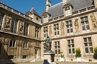 HOTEL CARNAVALET IN MARAIS DISTRICT PARIS FRANCE