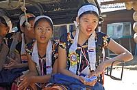 Burmese musicians, Myanmar