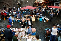 La Pescheria, Cataina´s fish market, Catania, Sicily, Italy, Europe