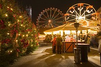Christmas market, Opera Palace, Berlin, Germany, Europe
