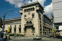geography / travel, Guatemala, Guatemala City, buildings, police department, exterior view, Central America, building, CEAM,