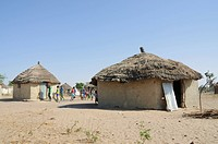 Pular tribal village, Sounth Badone, Senegal, West Africa, Africa