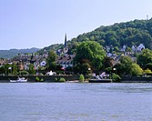 geography / travel, Germany, Rhineland_Palatinate, Linz on the Rhine, city views, Europe, Rhineland Palatinate, Rhine River, Rhine Gorge, city view / ...