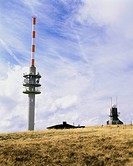 geography / travel, Germany, Baden_Wuerttemberg, landscapes, Black Forest, Feldberg, Nature Park Südschwarzwald South Black Forest, summit with Tower,...