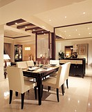 Dining room, dining table