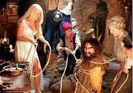 movie, Der Räuber Hotzenplotz, DEU 2005, director: Gernot Roll, scene with: Barbara Schöneberger Amaryllis, Martin Stührk Kasperl und Christiane Hörbi...