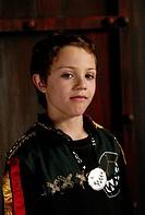 movie, Die Wilden Kerle 3, DEU 2006, director: Joachim Masannek, PR photo: Nick Romeo Reimann, family, boy, child, portrait,