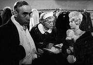 movie, Bankraub in der Rue Latour, DEU 1961, director: Curd Juergens, scene with: Charles Regnier, Curd Juergens, Ingeborg Schoener, comedy, crime, ha...